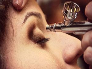 Aerógrafo para maquillaje